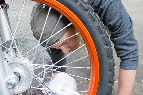 車輪の点検