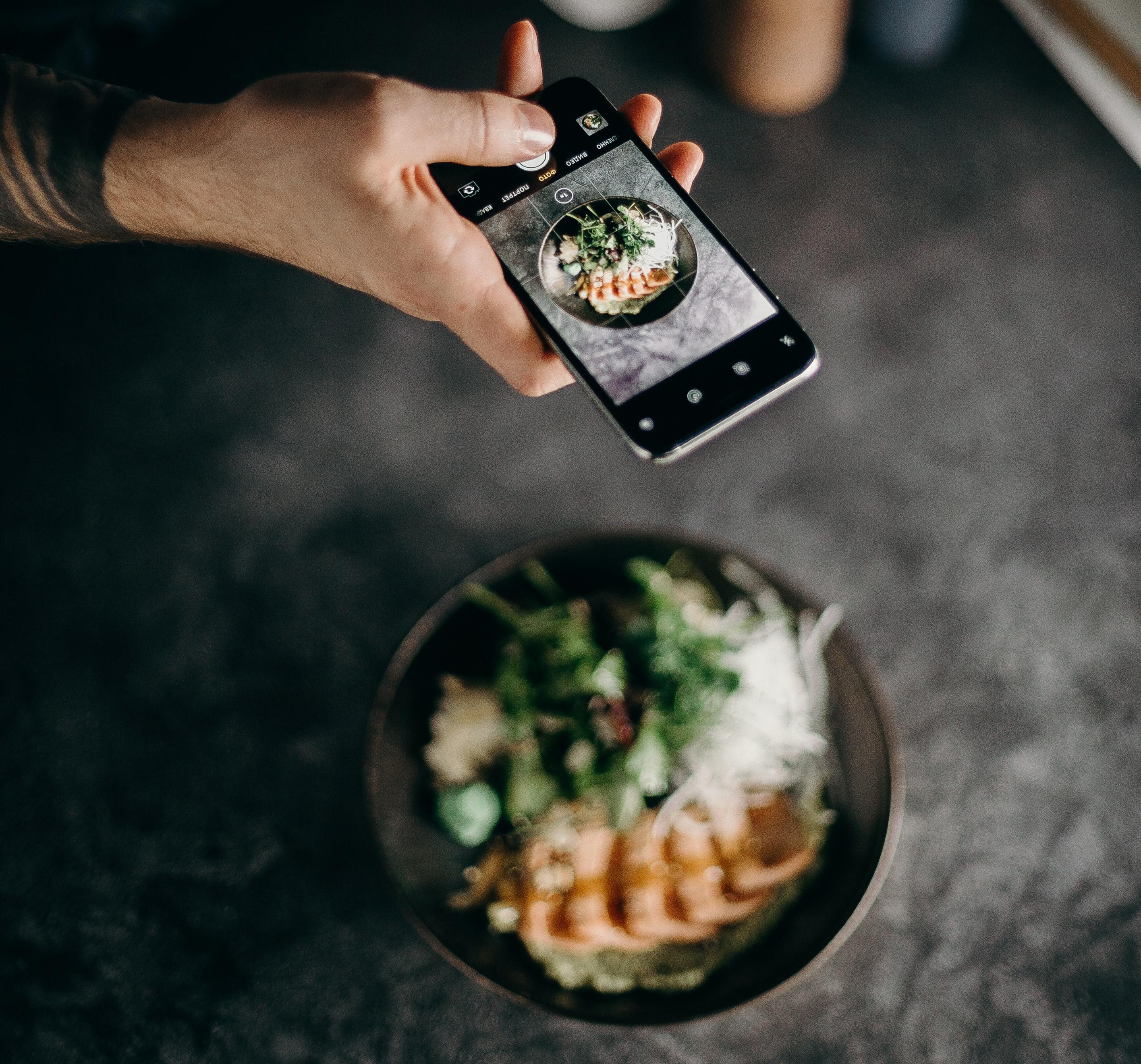 Blogueiro de comida