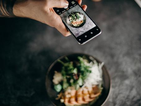 Como fotografar comida ao ar livre e vender mais!