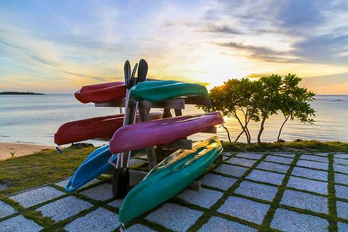 Pile de kayak