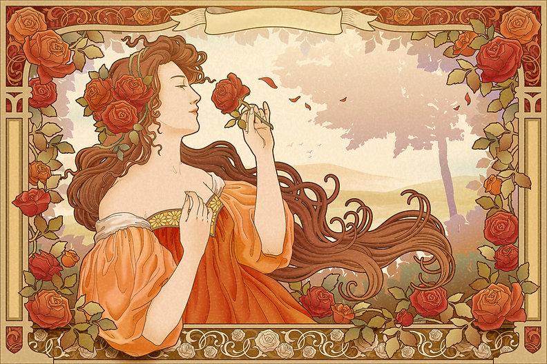 Mucha Goddess