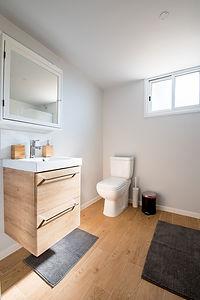 Parquet Floor Bathroom