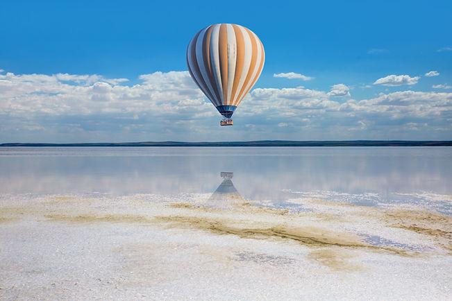 Balloon Over Salt Lake