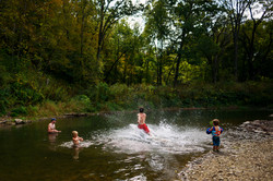 Swimming in Forest River