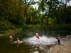 Severn Trent's Green Recovery Plans Encourage Wild Swimming
