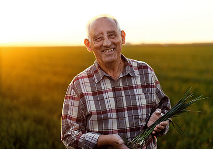 Senior Male Farmer
