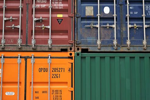 Contêineres de carga