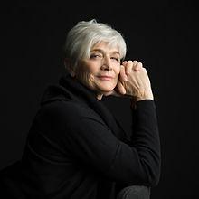Senior Woman in Black