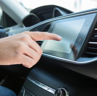Car Dashboard Touch Screen