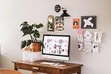 Home Desk Art