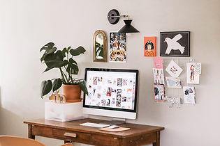 Art de bureau à domicile