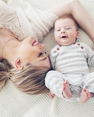 Morher og baby