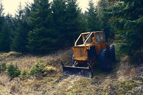 Tractor Deforestation