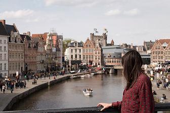 River Bridge Lookout in Amsterdam