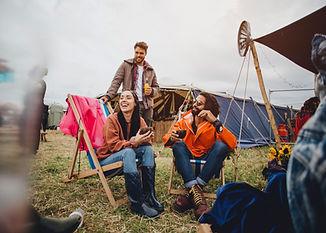Camping en Festival