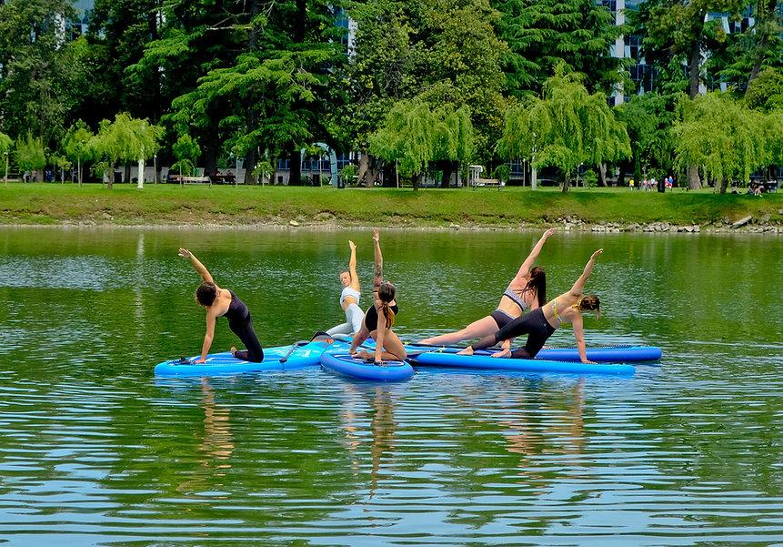 Yoga en groupe