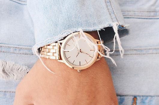 SHOPWITH LU Gold Watch