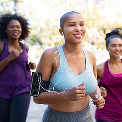 Vrouwen die rennen