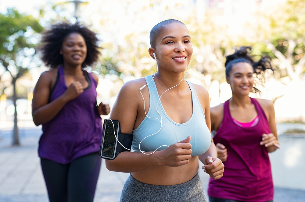 Exercise will help cut cravings, keep you feeling good, and help you stay motivated, especially if your friends are running alongside in support!