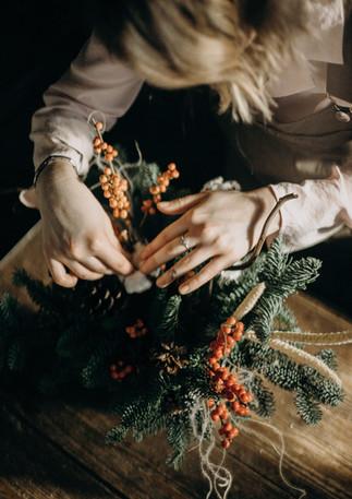 Weihnachts Basteln Workshops als Firmen-Weihnachtsfeier buchen
