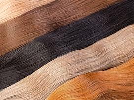 Couleurs d'extension de cheveux