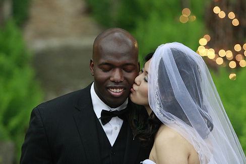 Bride's Kiss