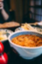 Udon Noodles Dish