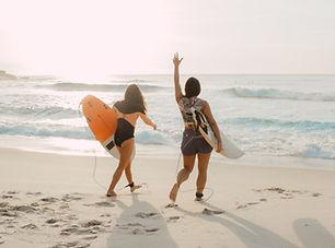 Amigos de surf