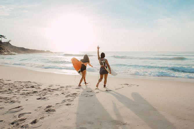 Amis de surf