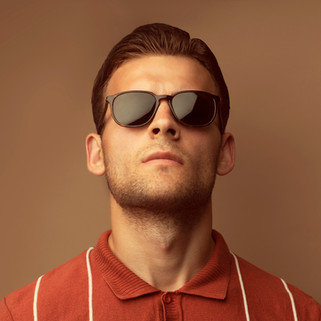 Model with Sunglasses