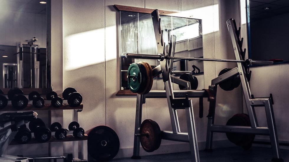 Fuerza en gimnasio