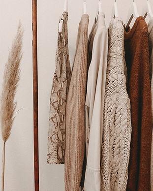 Fall Fashion Display