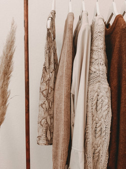 Exhibición de moda de otoño