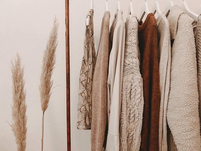 Affichage de la mode d'automne