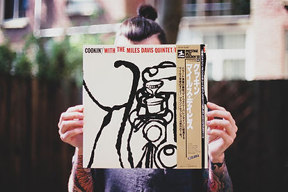 Couverture de disque vinyle