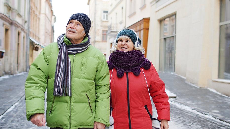 Senior Tourists