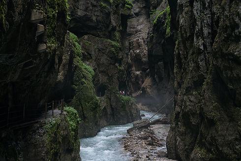 Nationales Geotop Partnachklamm