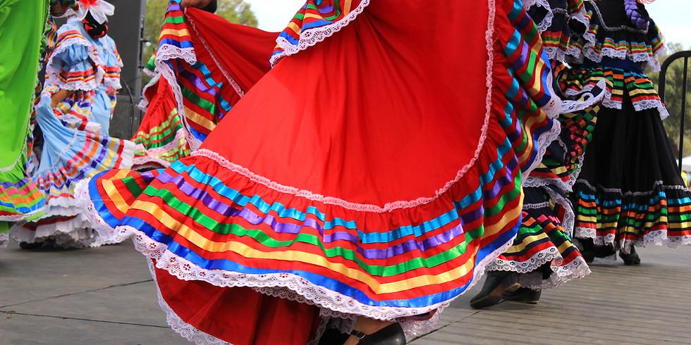 Groupe folklorique du chili