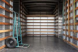 Caminhão vazio