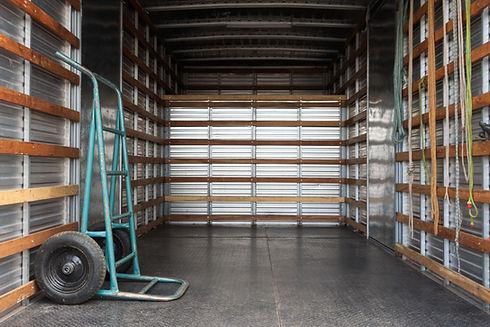 Camión vacio