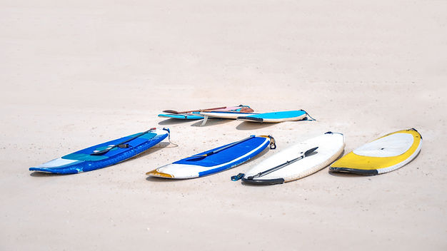 Boards on the Beach