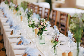 Conjunto de mesa festiva