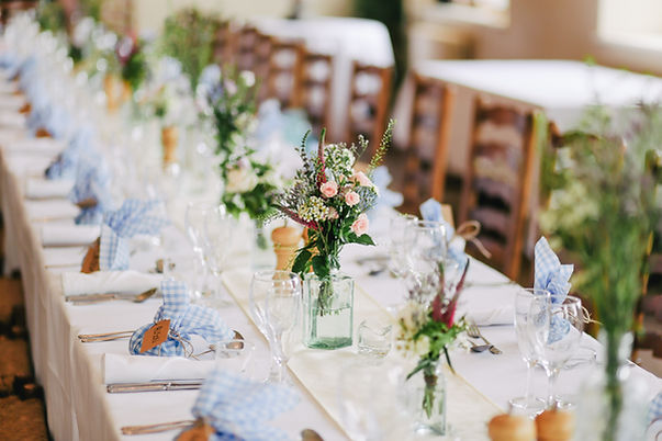 Feestelijke tafelset