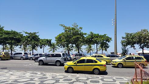 Táxis no Rio de Janeiro