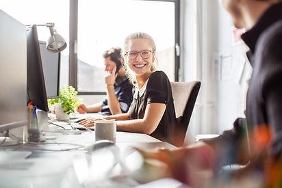 Smiling-designer-at-work