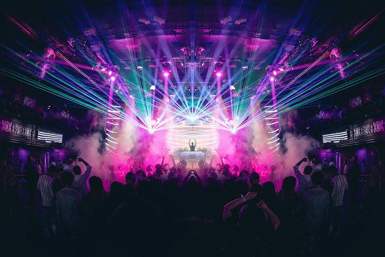 Licht bij concert