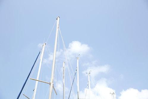 Aluminum sail boat mast