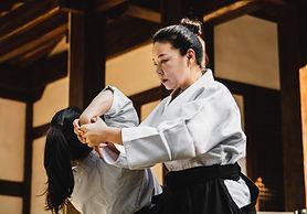 Sesión de artes marciales