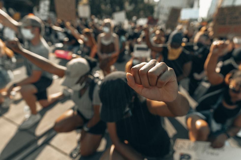 Kneeling Protestors