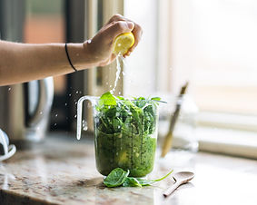 Making Green Juice